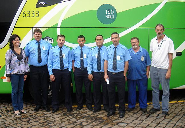 Motoristas recebem treinamento técnico,  teórico e prático, ministrado pelo Gerente de Manutenção Luiz C. Zarpellon