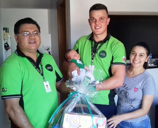 Matheus, filho do agente de vendas Cássio de Foz do Iguaçu