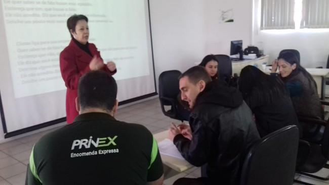 Treinamento para aperfeiçoamento de linguagem formal e linguagem informal