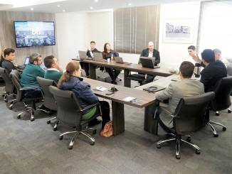 Reunião da BTI e Trade com a diretoria da EPC