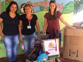 CVEL doação de brinquedos