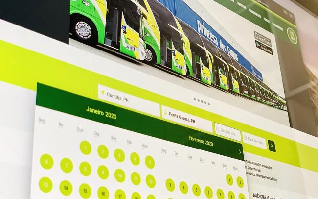 Princesa dos Campos apresenta novo sistema de venda de passagens