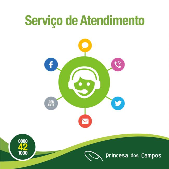 Serviço de Atendimento Princesa dos Campos, Cantelle e Prinex.