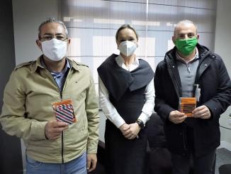CCR RodoNorte doa 2.000 máscaras para o Expresso Princesa dos Campos.