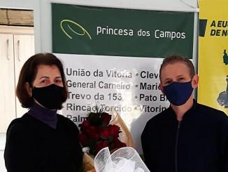 Nosso agradecimento Sra. Maria Helena da agência de Barracão