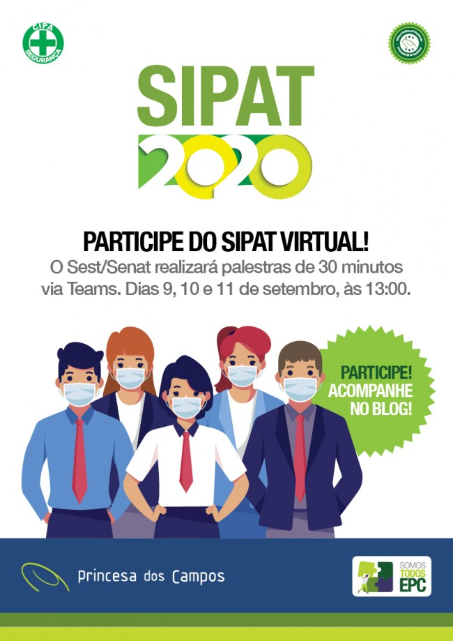 Participe do Sipat Virtual