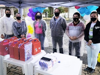Veja como foi o Drive Thru 'Dia das Crianças' Arprince na cidade de Ponta Grossa.