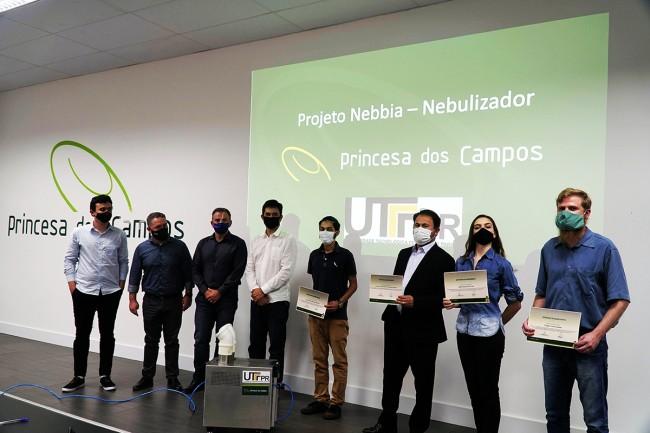Projeto Nebulizador: UTFPR e Princesa dos Campos